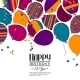 Birthday Card with Balloons - GraphicRiver Item for Sale