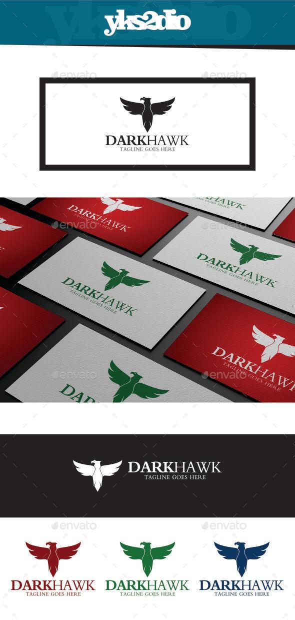 GraphicRiver Dark Hawk Logo 9369468