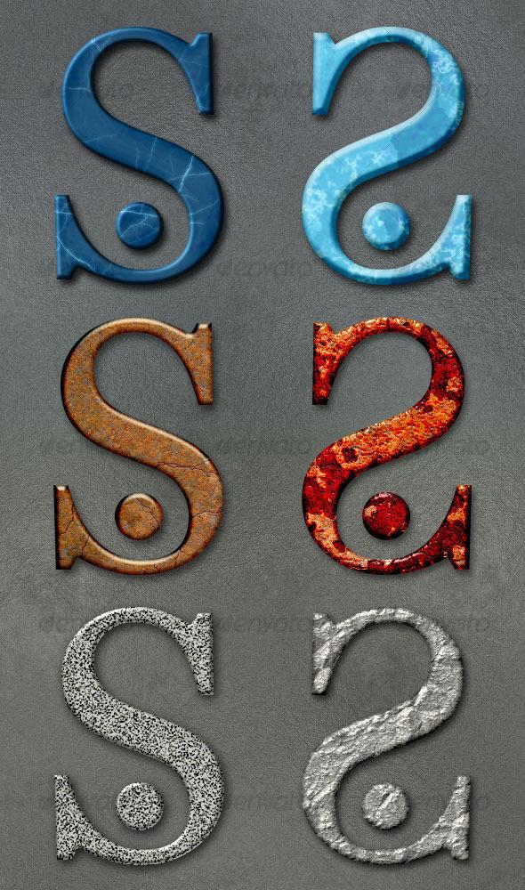 GraphicRiver Stone Styles 2 31762