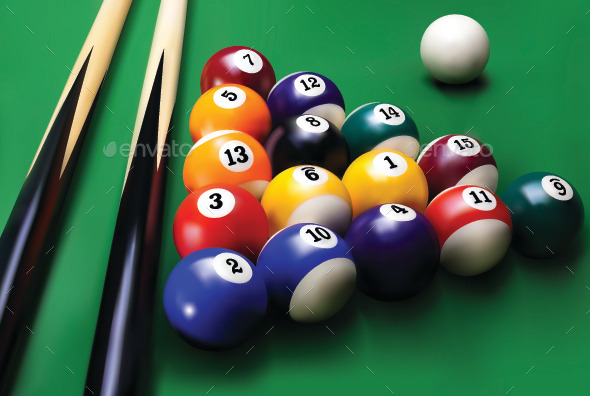 GraphicRiver Billiards 9369662