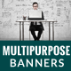 Multipurpose Web Ad - GraphicRiver Item for Sale