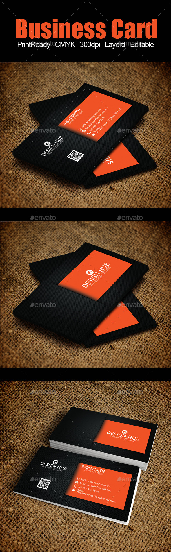 GraphicRiver Business Card 9369864