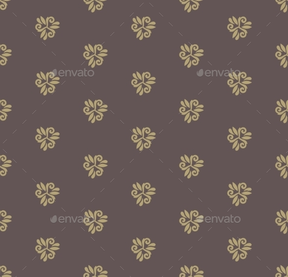 GraphicRiver Floral Seamless Vector Pattern 9370416