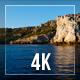 Floating Along Rocks - VideoHive Item for Sale
