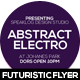 Abstract Electro Flyer Design - GraphicRiver Item for Sale