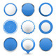 Blue Round Buttons - GraphicRiver Item for Sale