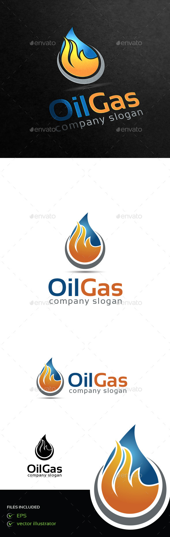 GraphicRiver Oil Gas 9258914