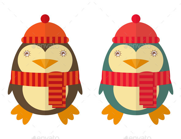 GraphicRiver Cartoon Penguin 9373145