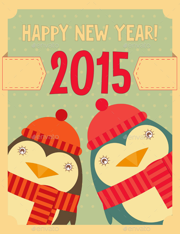 GraphicRiver New Year Greeting Card 9373182