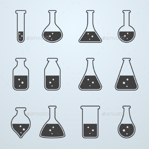 GraphicRiver Chemical Biological Science Laboratory Equipment 9373194