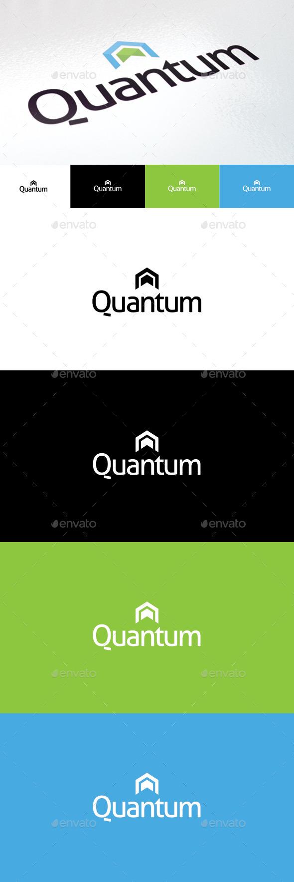 GraphicRiver Quantum Logo 9373493