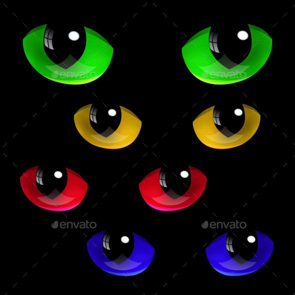 GraphicRiver Cat Eyes 9374540