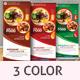 Restaurants/Foods Roll-Up Banner - GraphicRiver Item for Sale