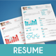 Clean Resume - Cover Letter - GraphicRiver Item for Sale