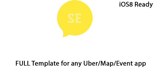 CodeCanyon Uber Map Event iOS8 Backend FULL THEME 9351049