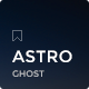 Astro - Responsive Ghost Theme - ThemeForest Item for Sale