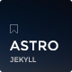Astro - Responsive Jekyll Theme - ThemeForest Item for Sale