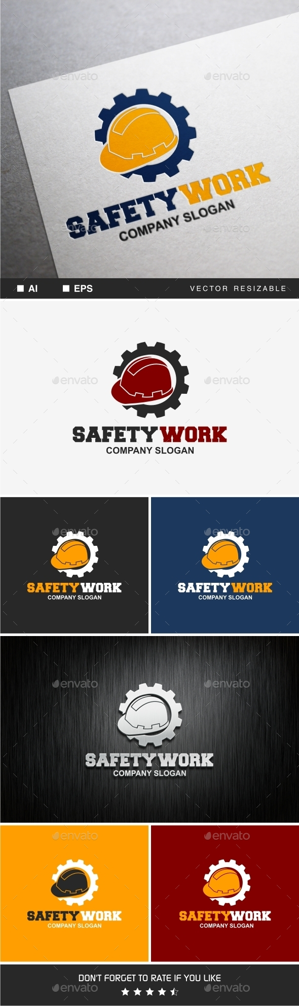 GraphicRiver Safety Work 9375353