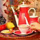 Woman Drinks A Tea - VideoHive Item for Sale