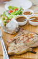 Grilled pork chop steak set - PhotoDune Item for Sale