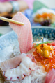 Sashimi set of fresh fish and seafood - PhotoDune Item for Sale