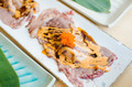 Japanese style fresh sliced beef sushi - PhotoDune Item for Sale