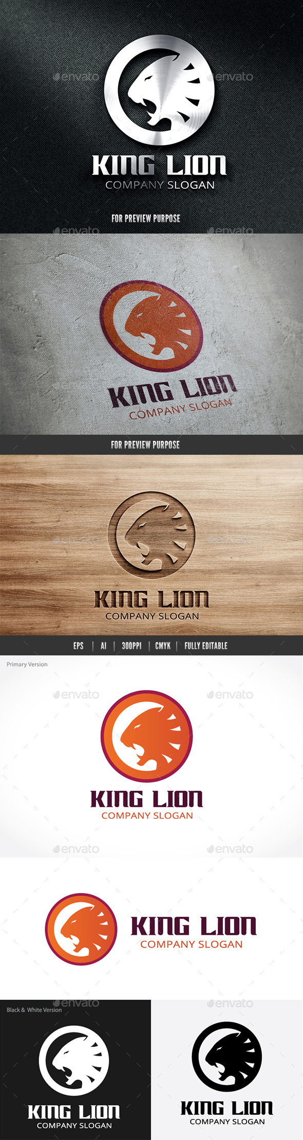 GraphicRiver King Lion 9376334