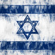 Painted Israel Flag - PhotoDune Item for Sale