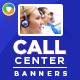 Call Center/Back Office Banners - GraphicRiver Item for Sale