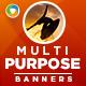 Multi Purpose Banner Design Set - GraphicRiver Item for Sale