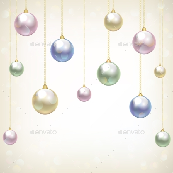 GraphicRiver Christmas Baubles 9376813