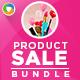 Product Sale Banners Bundle - 3 Sets - GraphicRiver Item for Sale