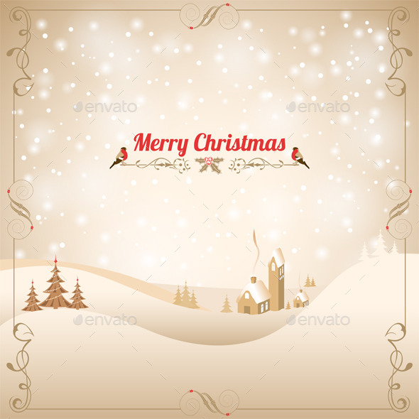 GraphicRiver Christmas Background 9377560