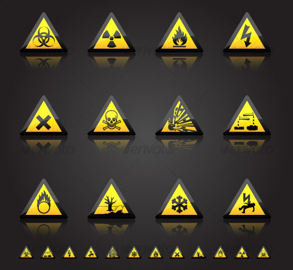 GraphicRiver Hazard Warnings 120319
