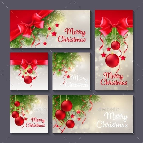 Set of Christmas Templates