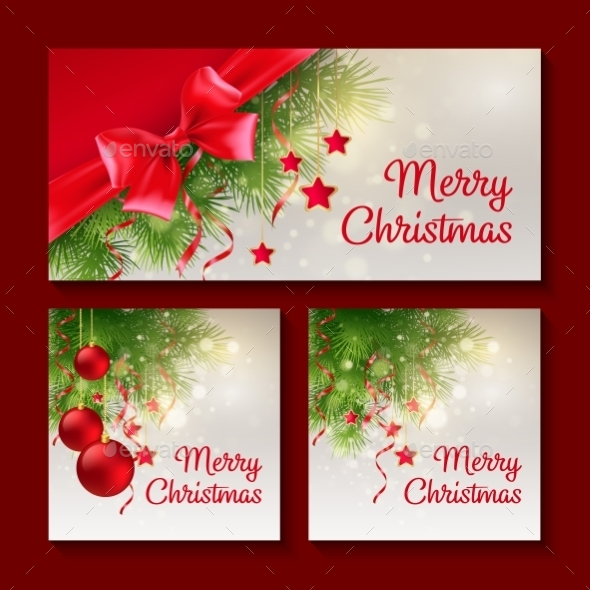 GraphicRiver Set of Christmas Templates 9377708