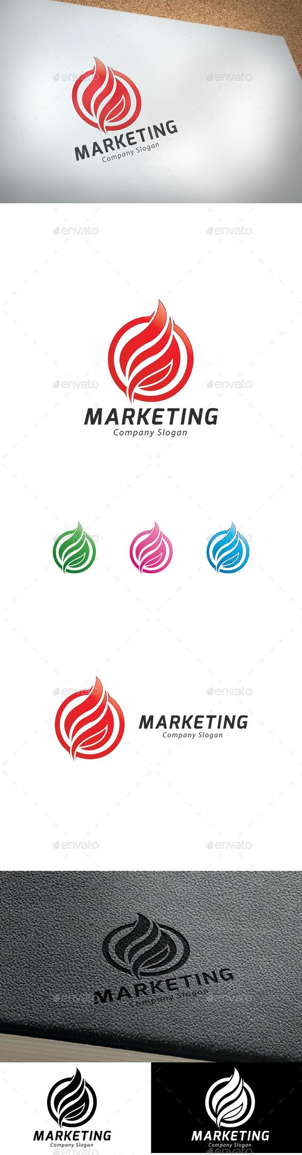 GraphicRiver Marketing Logo 9377751