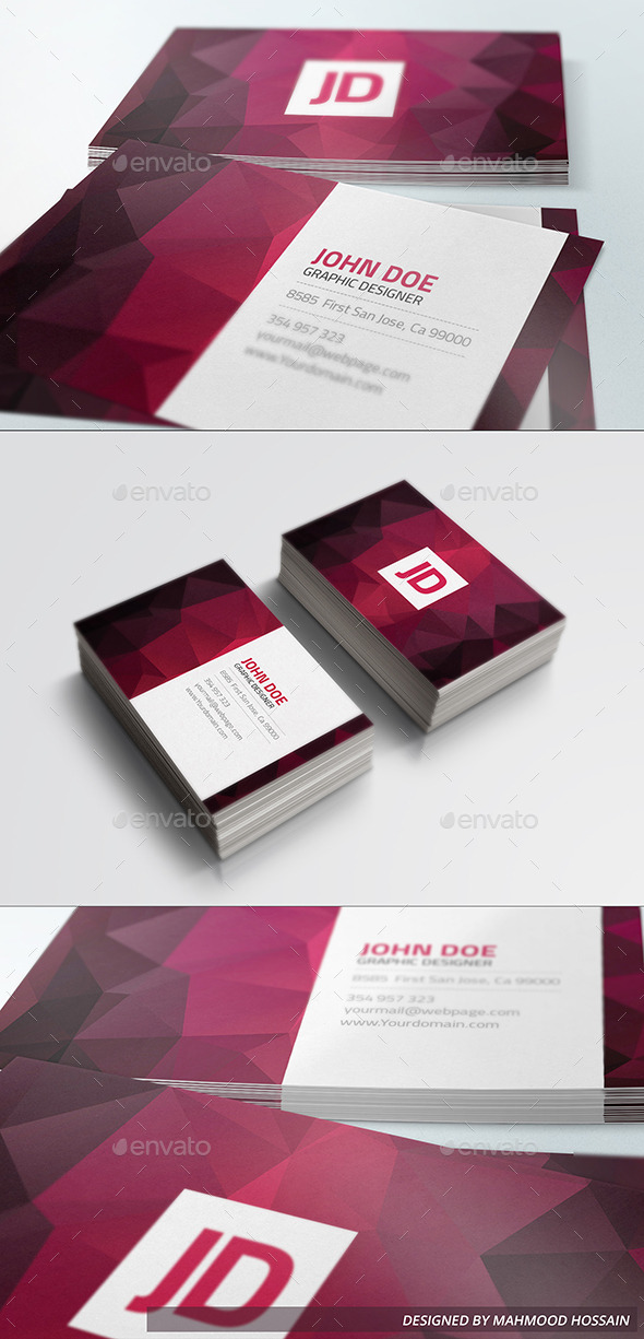 GraphicRiver Elegant Business Card vol.01 9378003