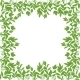Background Frame of Green Leaves - GraphicRiver Item for Sale