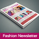 InDesign Fashion Newsletter
