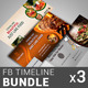 Restaurant Business FB Timeline Bundle | Volume 5
