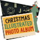 Christmas Illustrated Photo Album - GraphicRiver Item for Sale