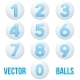 Round Number Icons - GraphicRiver Item for Sale