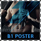 Fitness & Gym B1 Signage Poster - GraphicRiver Item for Sale