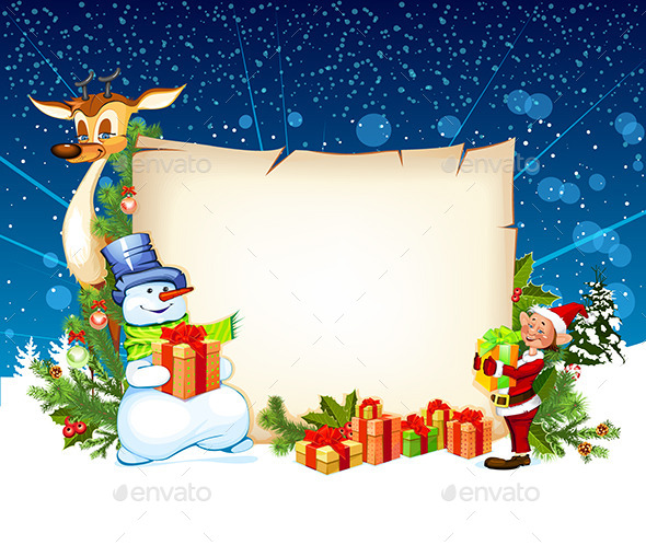 GraphicRiver Christmas Card 9380461