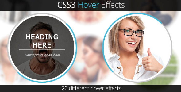 CodeCanyon CSS3 Hover Effects 9347344