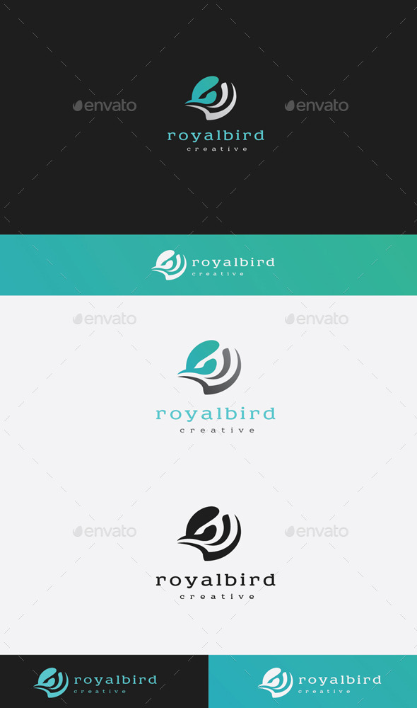 GraphicRiver Royal Bird Logo 9382005