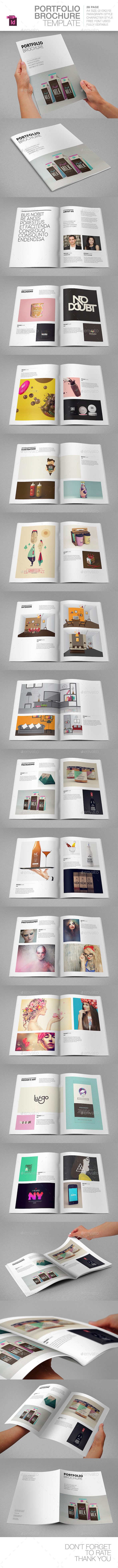 GraphicRiver Portfolio Brochure Template 9382207