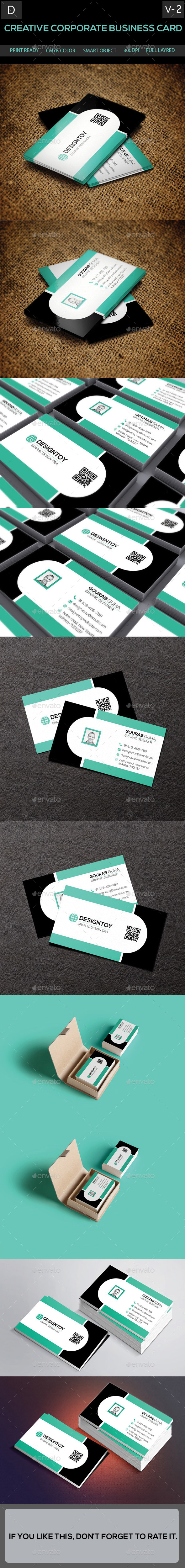 GraphicRiver Creative Corporate Business Card [Volume-2] 9327816