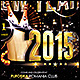 2015 New Year Poster/Flyer - GraphicRiver Item for Sale